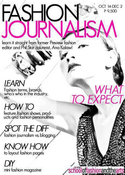earn an online degree for a career in fashion journalism