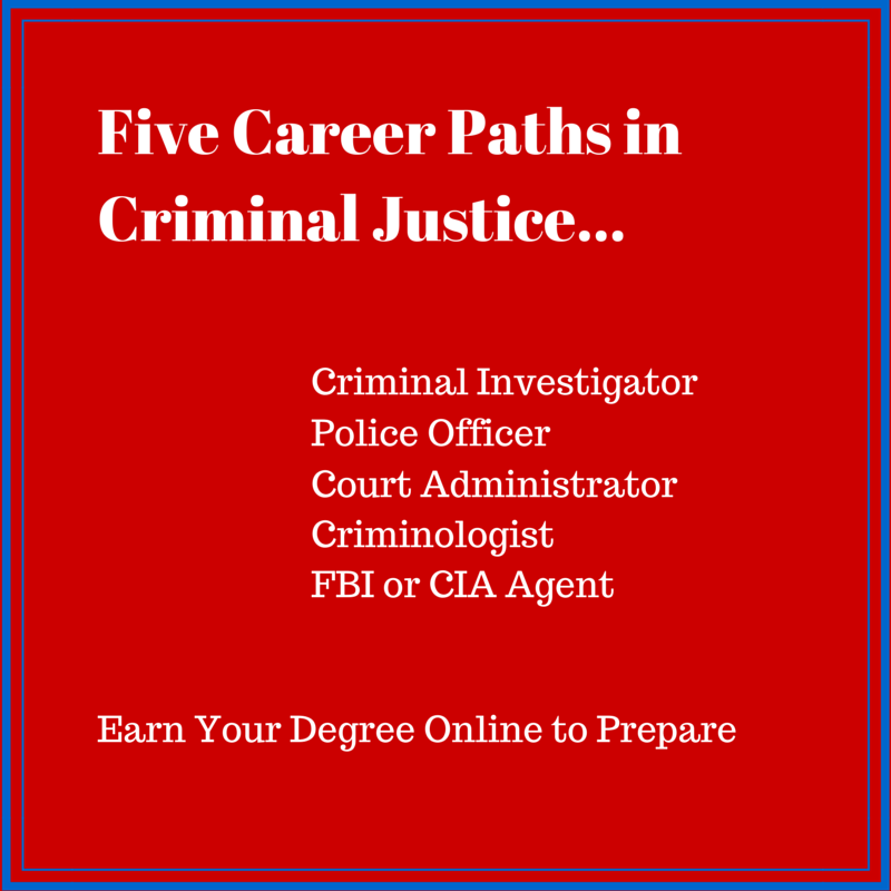 Career Paths in Criminal Justice
