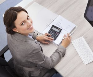 Business Woman Accountant